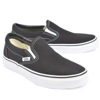 Vans Classic Slip On W Canvas  - Black/White