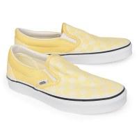 Vans Women's Slip On Checker - Golden Haze