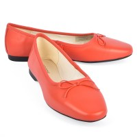 Vagabond Shoes Maddie Ballet - Flame Red
