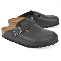 Birkenstock Boston Oiled Lea W - Black