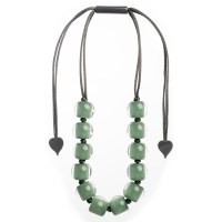 Zsiska Colourful Beads 16 - Green
