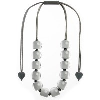 Zsiska Colourful Beads 16 - Grey