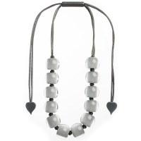 Zsiska Colourful Beads 16 - Grey