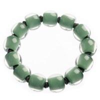Zsiska Colurful Beads Bracelet - Green