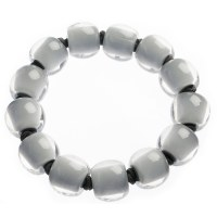 Zsiska Colurful Beads Bracelet - Grey