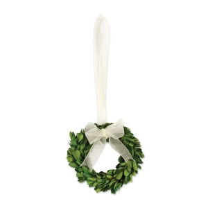 """Round Boxwood Wreath 6"""""""