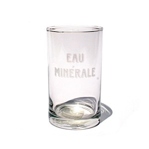 Glass Eau Minerale