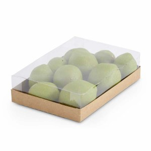 Faux Lime Box of 10