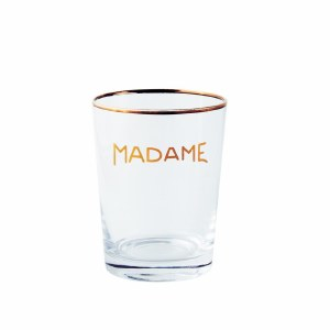 "Glass Tumbler ""Madame"""