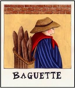 Baguette Print (unframed)