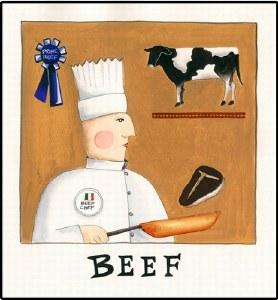 Beef Print (unframed)