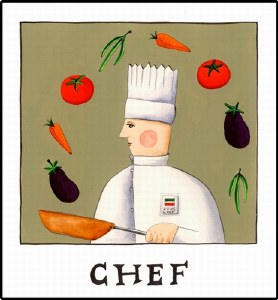 Chef Print (unframed)