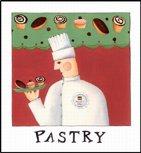 Pastry Print (unframed)