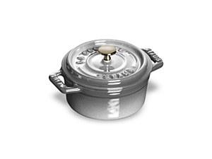 Staub Mini Round Grey ¼qt