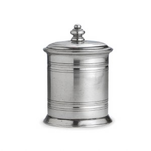 Pewter Canister Small