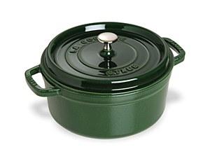 Staub Cocotte 4qt Round Green