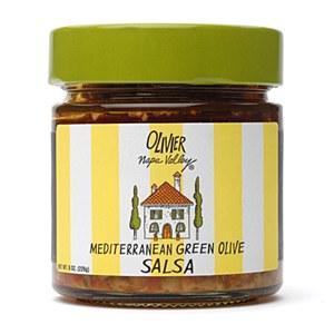 Mediterranean Green Olive Salsa