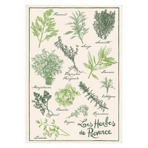 Torchon Herbes de Provence