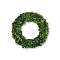 Round Boxwood Wreath 12""