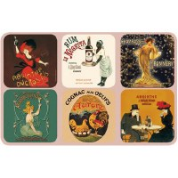 Coaster Set Absinthe