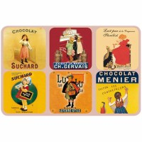 Coaster Set Chocolate