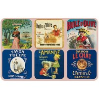 Coaster Set Olive Oil