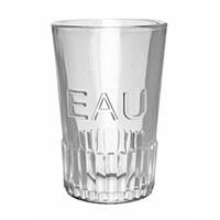 """Glassware Water """"Eau"""""""