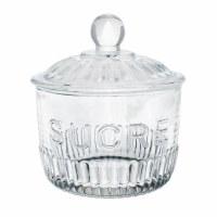 Glassware Sugar Jar Sucre