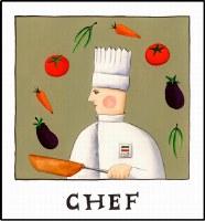 Chef Print (unframed)