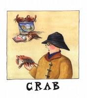 Crab Print (unframed)
