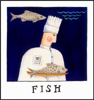 Fish Print (unframed)