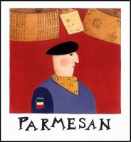 Parmesan Print (unframed)