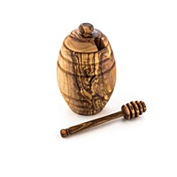 Olivewood Honey Pot