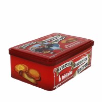 La Trinitaine Butter Cookie Assortment in a Tin