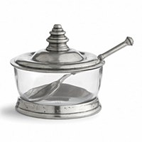 Pewter Footed Compote