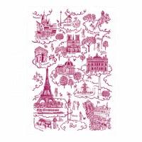 Torchon Paris Toile