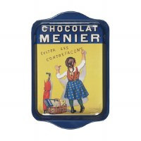 Tray Metal Chocolate Menier