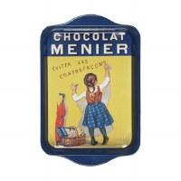 Tray Metal Chocolate Menier