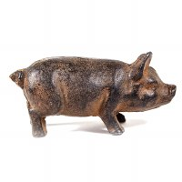 Cast Iron Truffle Pig