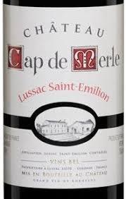 CH CAP DE MERLE 750ML