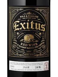 EXITUS BOURBON BRL RED 750ML