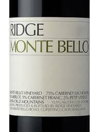 RIDGE MONTE BELLO 750ML