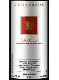 SILVIO GRASSO BAROLO 750ML