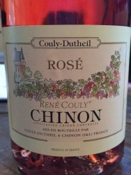 COULY DUTHEIL CHINON ROSE750ML
