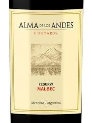 ALMA LOS ANDES MLBC RSV 750ML