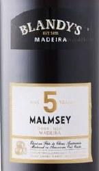 BLANDY'S 5YR MALMSEY 750ML
