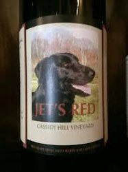 CASSIDY HILL JET'S RED 750ML
