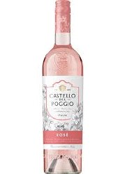 CASTELLO POGGIO ROSATO 750ML