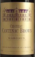 CH CANTENAC BROWN 750ML
