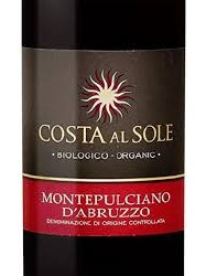 COSTA AL SOLE MD'A 750ML